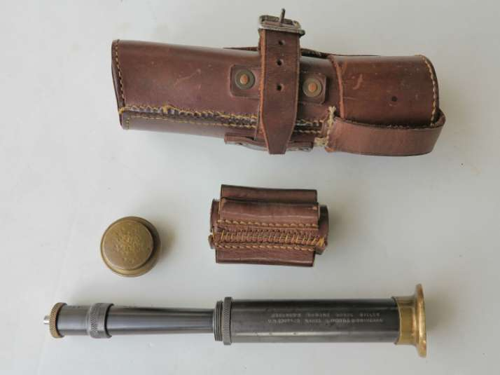 Pocket Horse Killer assembled showing mallet, holster and bandolier